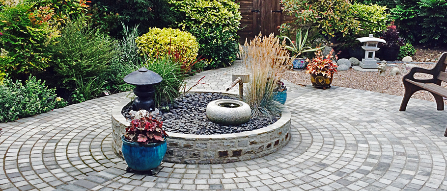 Indian Sandstoon Circular Patio